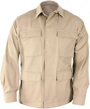 Khaki Military Police Tactical 100% Cot Rip-Stop Fatigue BDU Shirt 5854