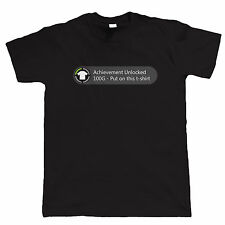 Achievement Unlocked Put On This T Shirt Funny Gamer T Shirt - Video Game