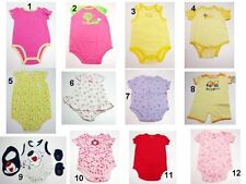 NEW Toddler Infant Baby Girls Creeper,Romper,Snapsuit Size:3-6,6-9,12,18,24 Mix