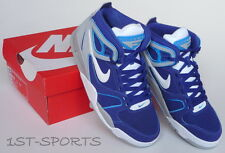NIKE MENS TRAINERS SHOES AIR FLIGHT FALCON LEATHER UK 6 to 9 BLUE RRP £90
