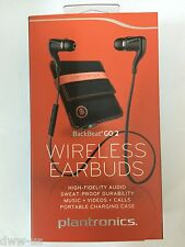 Plantronics BackBeat GO 2 Wireless Earphones w/ Charging Case