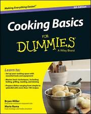 NEW Cooking Basics For Dummies by Marie Rama BOOK (Paperback)