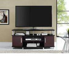 Contemporary TV Stand Entertainment Center Media Console Storage Furniture Wood