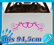Bumper Stickers Heart Vine, Love Tattoo, Car Styling Hearts Love Bumper Sticker