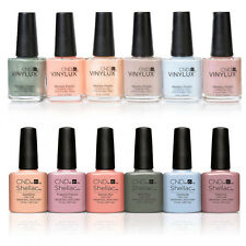 Genuine New CND Shellac & Vinylux Flora & Fauna Collection UK