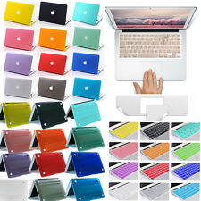 3IN1 Trackpad Protector Keyboard Cover Hard Case For Macbook Pro 13 15 Air 11 13