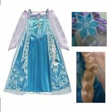Disney Frozen Asda George Princess Elsa Fancy Dress Costume Age 2-11 FAST POST