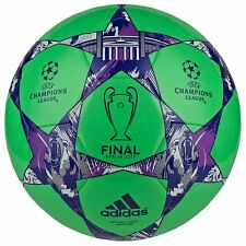 adidas Capitano Finale UCL Berlin 2015 Soccer BALL Green Brand New