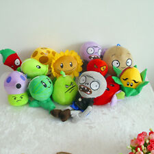 Plants vs Zombies 2 PVZ Figures Baby Plush Staff Toy Stuffed Doll Holiday gift