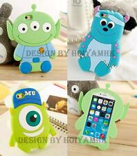 3D Cute Diseny Toy Story & Monsters Inc Silicone Soft Case For iPhone 6/ 6 Plus