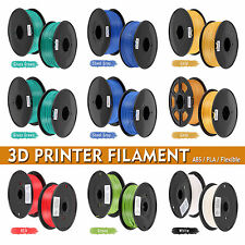 3D Printer Filament 1.75mm 3mm ABS PLA Wood Flexible for MarkerBot RepRap