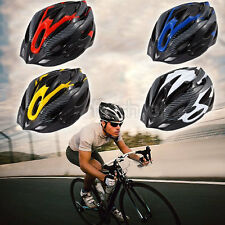 Road Mountain Bicycle Bike Helmet Cycling Visor Carbon Safety Helmets Adjustable