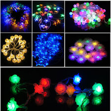 2M 20 LED String Fairy Light Battery Powered Christmas Xmas Wedding Party Tree