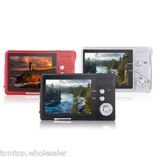 "Mini Digital Camera Video Camcorder HD 16MP 2.7"" TFT LCD 8X ZOOM Anti-shake"
