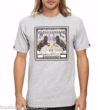 Crooks and Castles No Limit Tee in Heather Grey (Diamond Topshelf Supply Co)