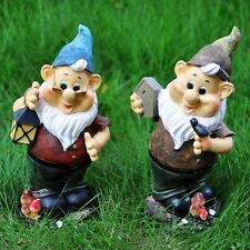 Home Garden Decorations Courtyard Resin Fairy Tale Old Man Ornaments Fashionable