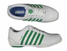 MENS TRAINERS K.SWISS ARVEE1.5 02453-144-M LACE UP LEATHER TRAINERS 6-12