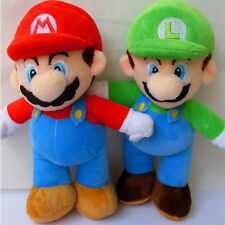 "Super Mario Bros. Stand MARIO & LUIGI 1 pcs Plush Doll Stuffed Toy 9"" Gift"