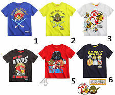 T-Shirt Angry Birds Star Wars Clone Wars 104 116 128 140 152 Jungen Shirt