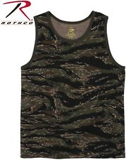 Tiger Stripe Camouflage Army USMC Tactical Military Top Army Camo Tank Top 8723
