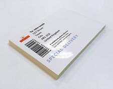 A4 White GLOSSY Self Adhesive / Sticker Paper Label Printing Paper Sheet.