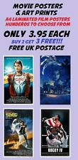 Classic Movie Posters 5:Laminated:A4:!!!!!!Buy 2 Get 3 FREE!!!!!!!!!!