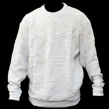 NEW MEN'S AUTHENTIC COOGI SWEATER WHITE COLOR
