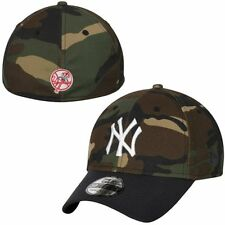New York Yankees New Era 3930 Fitted Camo Hat Flex Fit 39THIRTY Cap