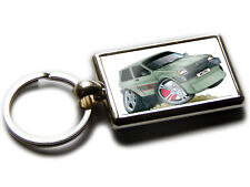 MG METRO Hatch Back Koolart Quality Chrome Keyring Picture Both Sides