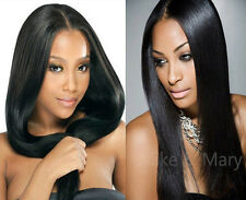 "12""-24"" Brazilian Remy Human Hair Silky Straight Wave Lace Front/Full Lace Wigs"