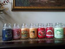 Yankee Candles 22 oz.Jars  New Shipment Great Fruit & Fresh Scents You Select