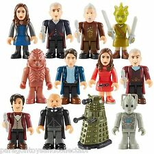 DOCTOR WHO CHARACTER BUILDING MICRO FIGURE SERIES 4 - Inc 12th and War Doctor