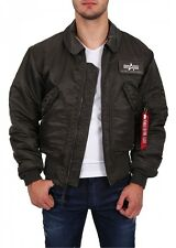 "Alpha Industries Herren Fliegerjacke ""CWU 45"" rep. grey NEW"