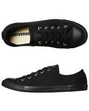 CONVERSE Chuck Taylor All Star Dainty CANVAS Lo Shoe Black mono WOMENS US SIZES