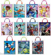 Disney Party Tote Bags Character Party Supplies Gift Loot Kids Birthday Frozen