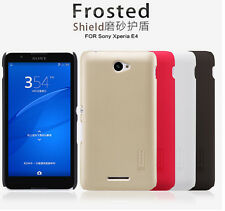 Nillkin Frosted Matte Hard Back Case Cover Shield + LCD Film For Sony Xperia E4
