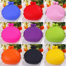 Fashion Candy Lady/Girl/Women Silicone Coin Purses Rubber Wallets Bag U pick