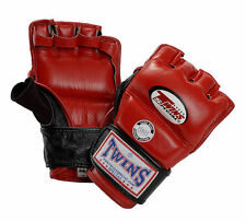 Twins Special Grappling Gloves MMA COMPETITION FIGHT GLOVES MMA - AUTHENTIC NEW