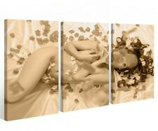 Canvas 3 pieces Female Sexy Love Girl Bottom Nude Erotic Image Mural 9A435