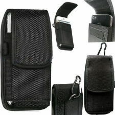 Universal Velcro Nylon Belt Loop Hip Case Cover Holster Pouch for Mobile Phone