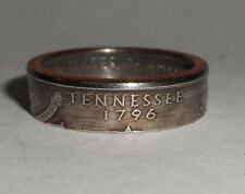 TENNESSEE STATE QUARTER handmade coin ring or pendant size 4-14