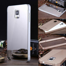 Aluminum Thin Metal Bumper&Acrylic Mirror Back Case Cover for Samsung GALAXY New