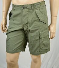 Ralph Lauren DENIM & SUPPLY KHAKI GREEN CARGO UTILITY SHORTS NWT
