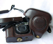 Leather Camera Case Bag Cover For Canon CANON POWERSHOT G7 G9 G10 G11 G12