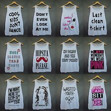 Women Street Indie Blogger Hipster Swag Tumblr OOTD Collection Shirt Tank Top