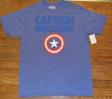 MARVEL Comics Captain America Captain Awesome Wicking Active T-Shirt Tee