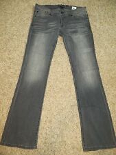 "New Jr Womens Fox Riders Racing""Torque""Gray Pants/Jeans -Stretch! Bootcut"
