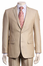 Slim Fit suit Ivory Beige, Off White Light color New Mens