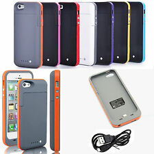 2500mAh External Backup Battery Case charger pack power bank for iphone 5 5S
