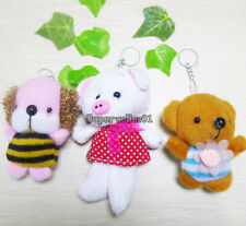 1Pcs Cute Pig Bear Rabit Family Plush Doll Stuffed Toy Kid Plaything Decoration